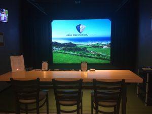 NexGen Indoor Golf Simulator